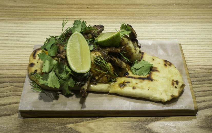 Codornices con Chimichurri. Feng Ye An