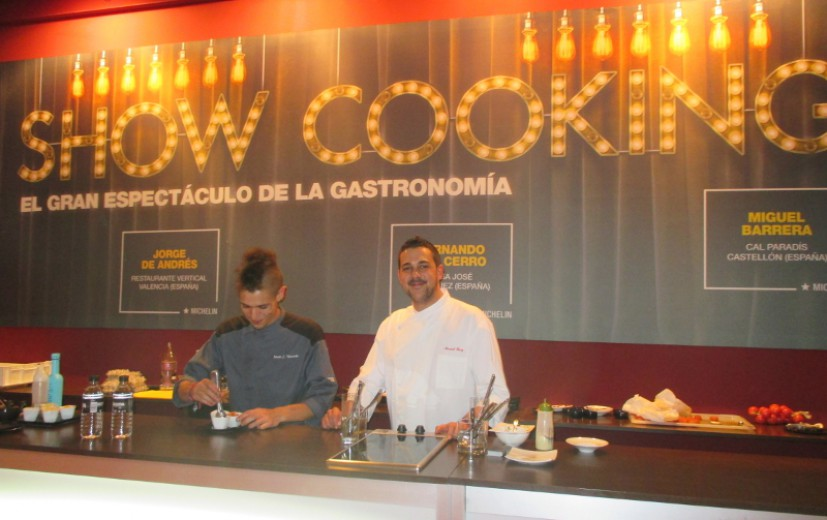Show Cooking Millesime Madrid 2015