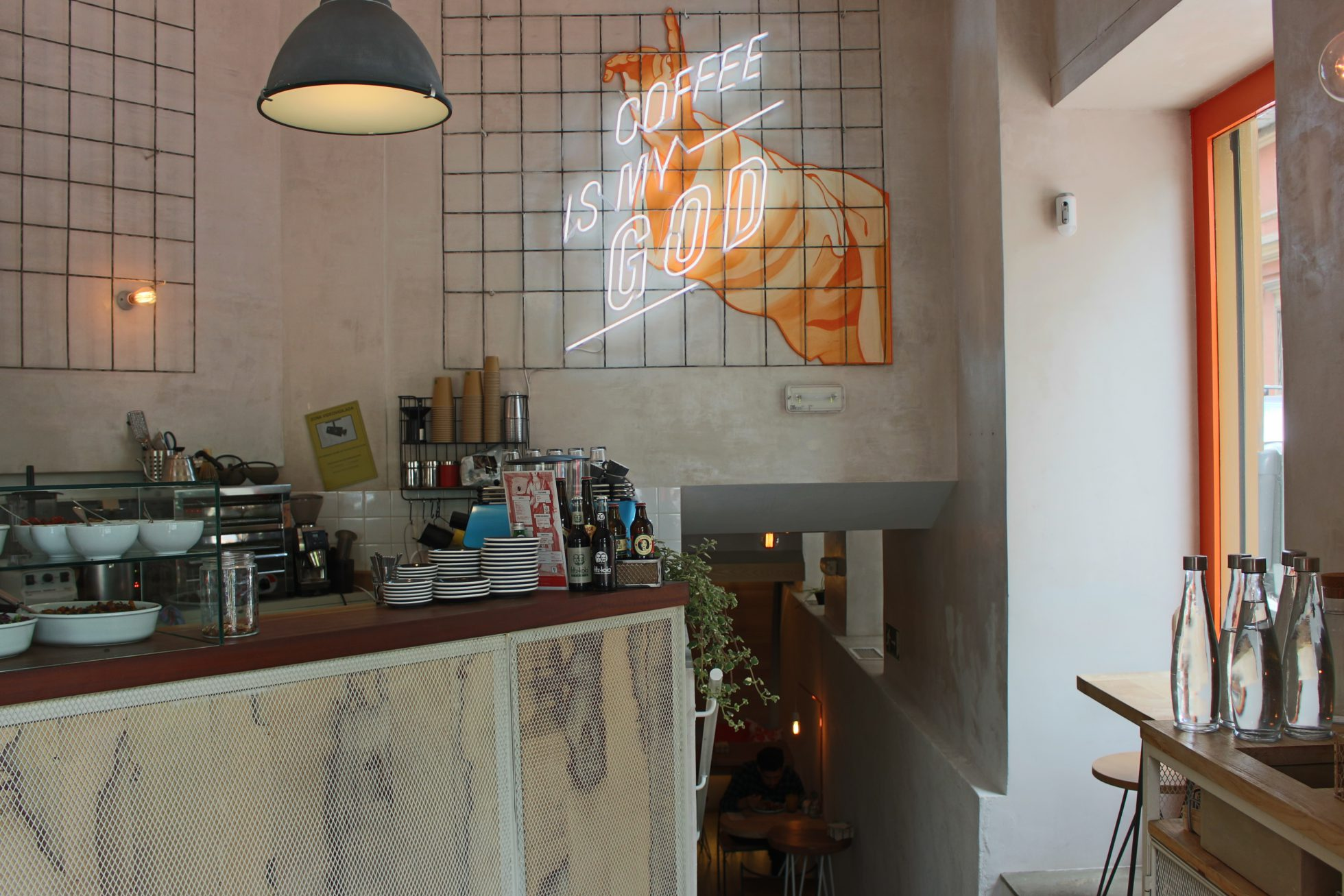 Religion Coffee - tomar cafe Madrid