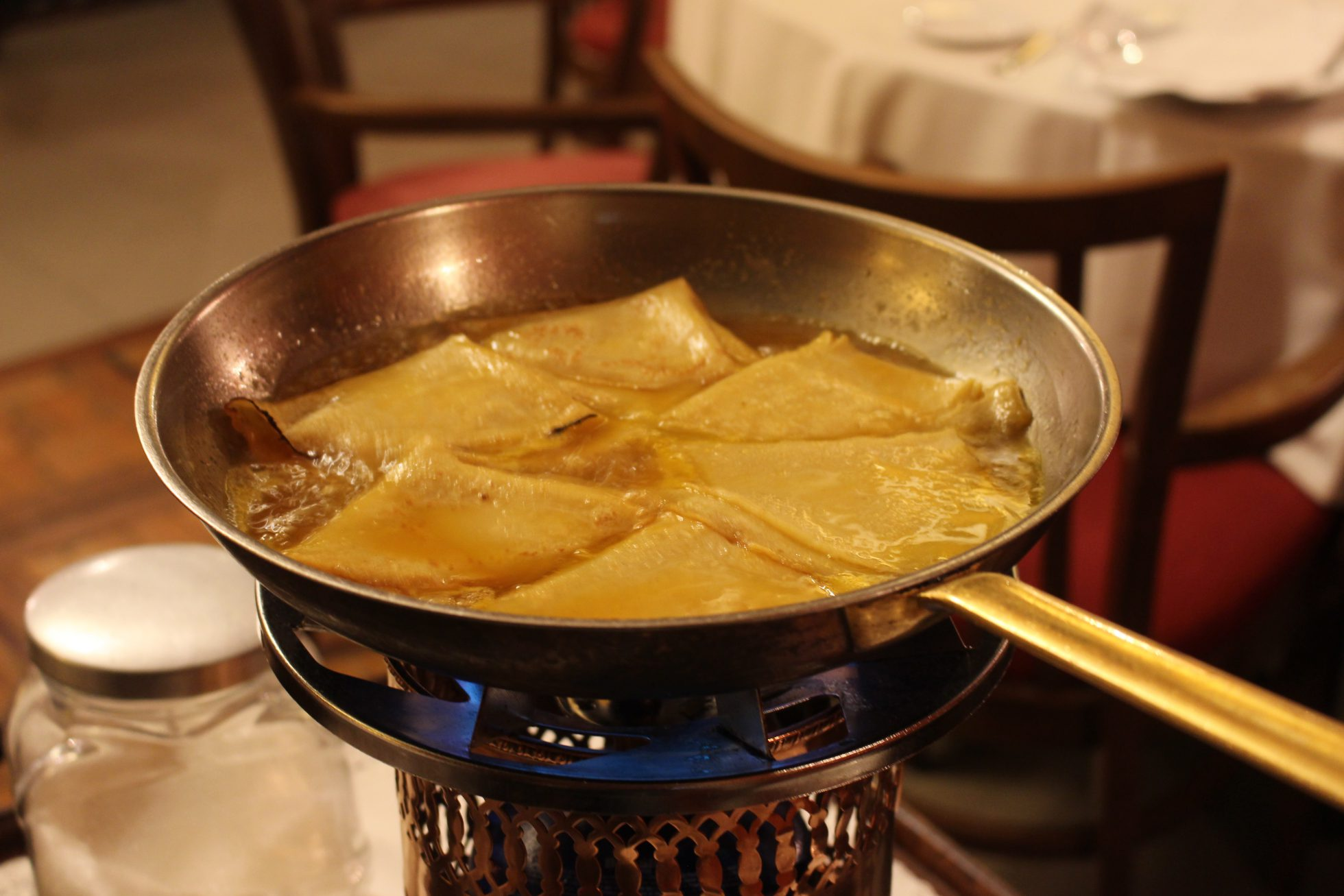 Crepes Suzette - Normandie Ondarreta